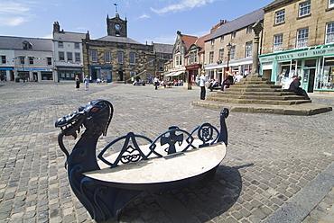 Alnwick Marketplace, Alnwick, Northumberland, England, United Kingdom, Europe