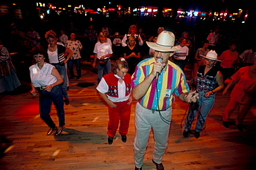 Cowboys dance lessons, Billy Bob's, Fort Worth, Texas, United States of America, North America