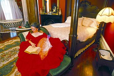 Guide in Tezcuco Inn, Plantation, Louisiana, United States of America, North America