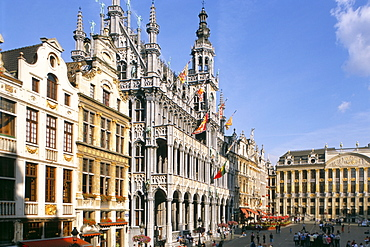 King's House, Grand Place, Brussels, Belgium, Europe