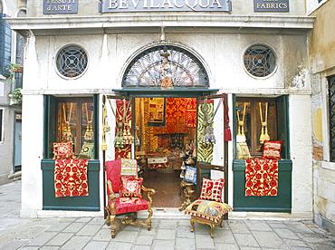 Bevilacqua, cut velvet weaver, Venice, Veneto, Italy, Europe