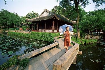 Garden, Zhuozhengyuan, Suzhou, China, Asia
