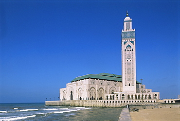The Hassan II Mosque, Casablanca, Morocco, North Africa, Africa