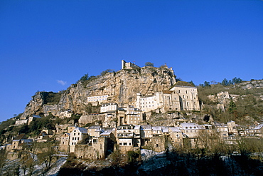 Rocamadour, Quercy region, Lot, Midi-Pyrenees, France, Europe