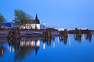 Norwegian Church, Cardiff Bay, South Wales, Wales, United Kingdom, Europe