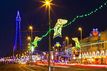 Illuminations, Blackpool, Lancashire, England, United Kingdom, Europe