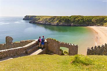 Barafundle Bay, Pembrokeshire, Wales, United Kingdom, Europe