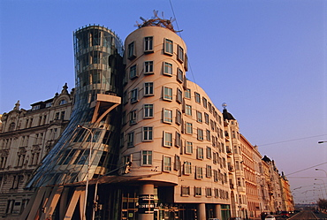 Fred and Ginger Building, Prague, Czech Republic, Europe