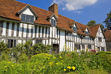 Palmer's farm building at Mary Ardens's farm, childhood home of Shakespeare's mother, Wilmcote, near Stratford-upon-Avon, Warwickshire, England, United Kingdom, Europe