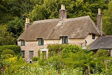 Thomas Hardy's cottage, Higher Bockhampton, near Dorchester, Dorset, England, United Kingdom, Europe