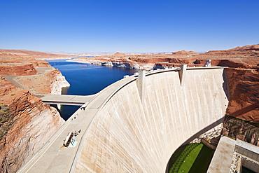 Glen Canyon Dam, Lake Powell, Page, Arizona, United States of America, North America