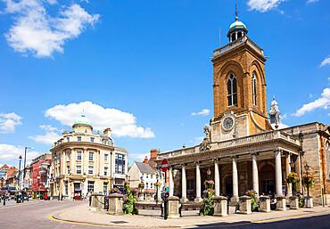 Parish Church Of All Saints George Row and Drapers Row Northampton town centre Northamptonshire England UK