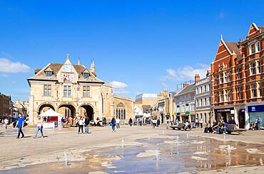 Peterborough Guildhall Cathedral Square Peterborough Peterborough Cambridgeshire England UK GB Europe