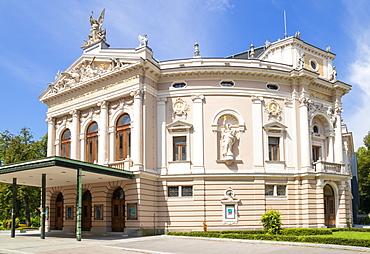 Ljubljana Opera House (Slovenian National Opera and Ballet Theatre of Ljubljana), Zupancic Street, Ljubljana, Slovenia, Europe