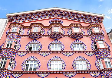 Vurnik House (Cooperative Business Bank Building) by Ivan Vurnik, Miklosic ulica (street), Ljubljana, Slovenia, Europe