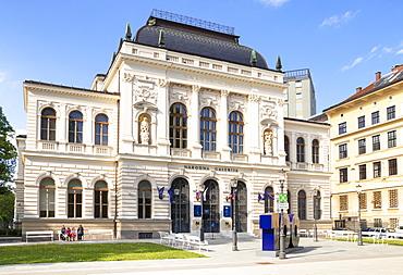 The National Gallery, National Art Gallery (Narodna Galerija), Ljubljana, Slovenia, Europe