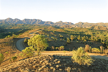 Bunyeroo Valley, Flinders Range, South Australia, Australia, Pacific