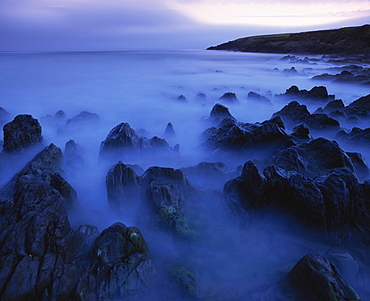 Seascape, long exposure