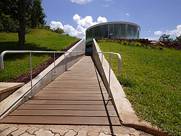 Centro de Arte Contemporanea Inhotim, contemporary artwork center owned and created in 2006 in a large park by Bernardo Paz, Brumadinho, Minas Gerais, Brazil, South America