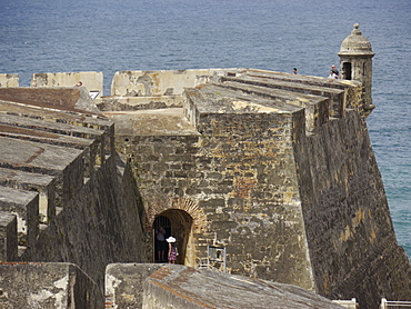 Fortifications, San Juan, Puerto Rico, West Indies, Caribbean, Central America