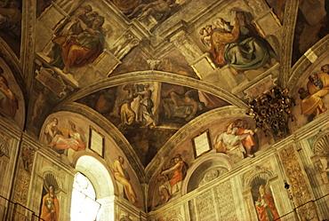 Sistine Chapel, Vatican, Rome, Lazio, Italy, Europe