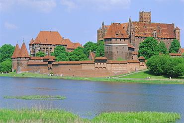 Malbork Castle, Coujavie, Poland