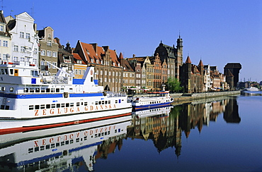 Old Port and Long Quay, Gdansk, Poland