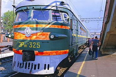 Trans-Siberian Express, Siberia, Russia