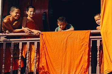 Boys, Vientiane, Laos, Asia
