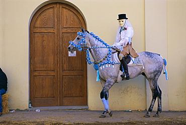 Oristano-La Santiglia Carnival, Sardinia, Italy, Europe