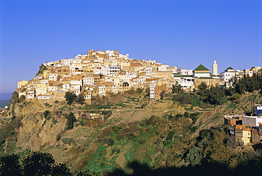Town of Moulay Idriss, Meknes Region, Morocco, North Africa, Africa