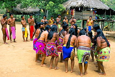 Embera Indians, Chagres National Park, Panama, Central America