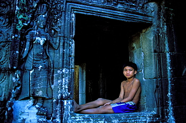 Bayon Temple, Angkor, Cambodia, Asia