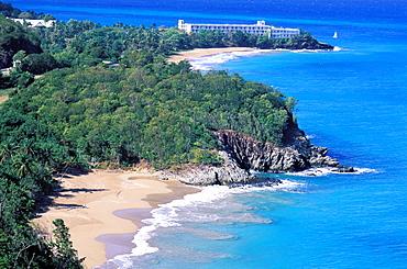 Pointe du Petit Bas Vent, Basse Terre, Guadeloupe, Caribbean, Central America