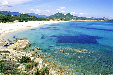 Cala di Sinzias, Villasimius, island of Sardinia, Italy, Mediterranean, Europe