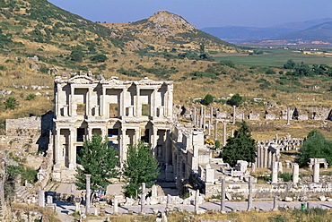 Library of Celsus, Ephesus, Egee region, Anatolia, Turkey, Asia Minor, Asia