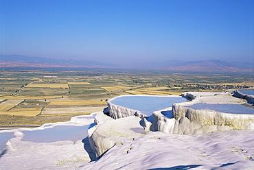 Natural spring, Pamukkale, UNESCO World Heritage Site, Egee region, Anatolia, Turkey, Asia Minor, Asia
