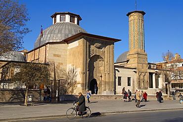 Ince Minare Medersa, Koranic school, Konya, Central Anatolia, Turkey, Asia Minor, Eurasia