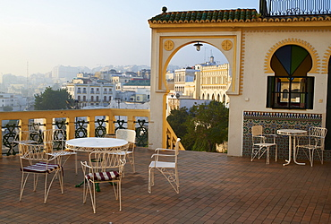 Continental Hotel built in 1870, old city, Medina, Tangier, Morocco, North Africa, Africa
