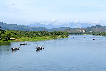 Perfume River, Hue, Vietnam, Indochina, Southeast Asia, Asia