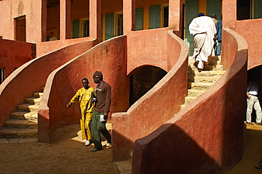 The Slave House, Island of Goree, UNESCO World Heritage Site, Senegal, West Africa, Africa