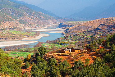 Yangtze River, Yunnan, China, Asia