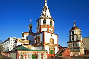 Epiphany Cathedral, Irkutsk, Siberia, Russia, Eurasia