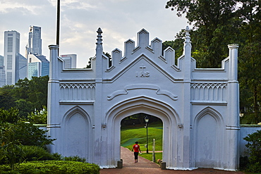 Fort Canning Park, Colonial District, Singapore, Southeast Asia, Asia