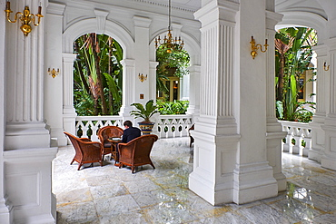 Raffles Hotel, Colonial District, Singapore, Southeast Asia, Asia