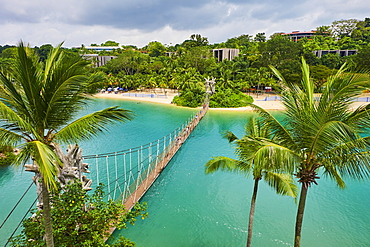 Palawan Beach, Sentosa, Sentosa Island, Singapore, Southeast Asia, Asia