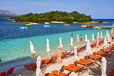 Ksamil Beach, Vlore Province, Albania, Europe