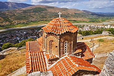 Berat city, UNESCO World Heritage Site, Berat Province, Albania, Europe