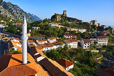 Old town of Kruja, Durres Province, Albania, Europe