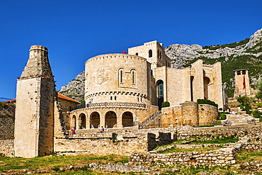 National Museum, old town of Kruja, Durres Province, Albania, Europe